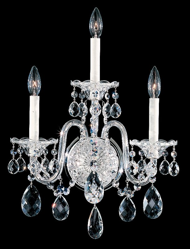 Sterling 3-Light Candle Wall Light
