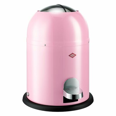 Wesco Single Master 2 Gallon Step On Trash Can Color: Pink