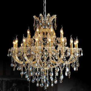 Orr Crystal 25-Light Candle-Style Chandelier