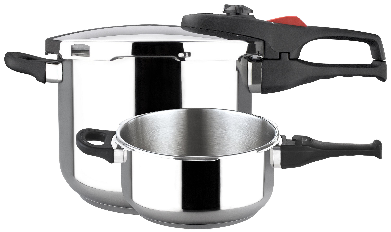 Magefesa Practika Plus Super Fast Pressure Cooker Set & Reviews ...