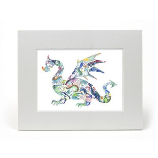 Leilani Dragon Mounted Art by East Urban Home