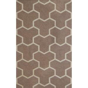 Darla Beige/Ivory Wool Area Rug