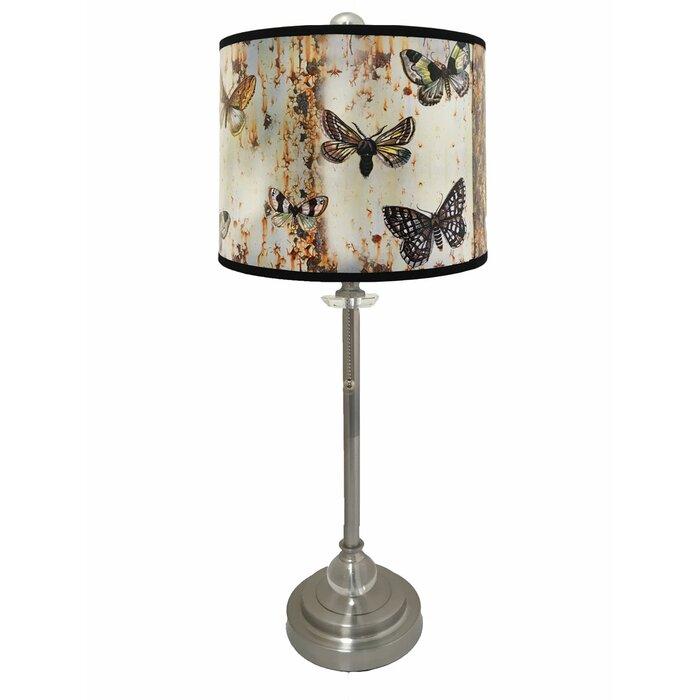 Mcgillicuddy crystal 28 buffet lamp