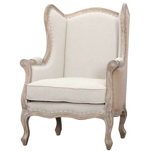 Guinevere Wingback Chair by New Pacific Direct