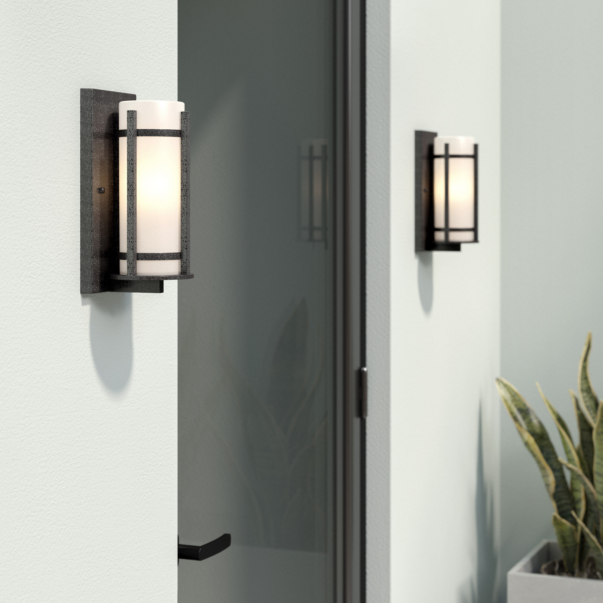 light sconce bulkhead item lightess square outdoor led lighting waterproof supplies exterior lights metal wall com