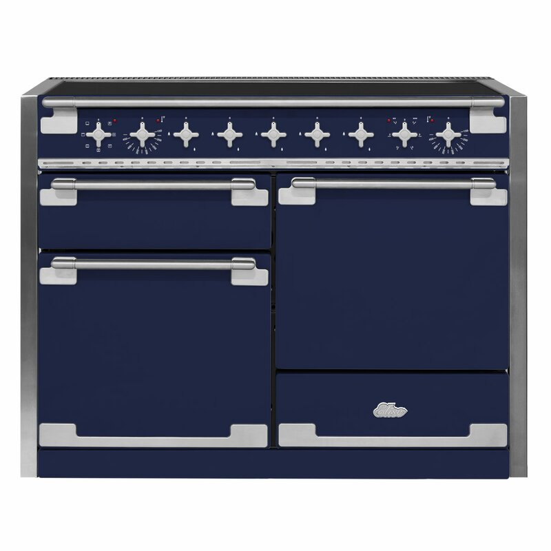 "AGA 48"" Elise Free-Standing Electric Range  Finish: Midnight Sky"