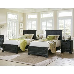 Farmhouse Twin Panel 4 Piece Bedroom Set. By Inspired By Bassett