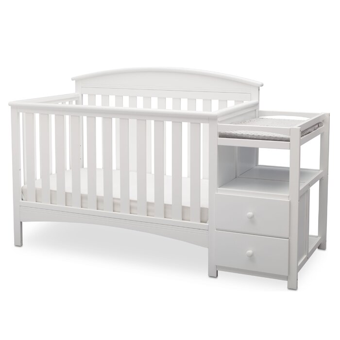 Abby 4 In 1 Convertible Crib And Changer