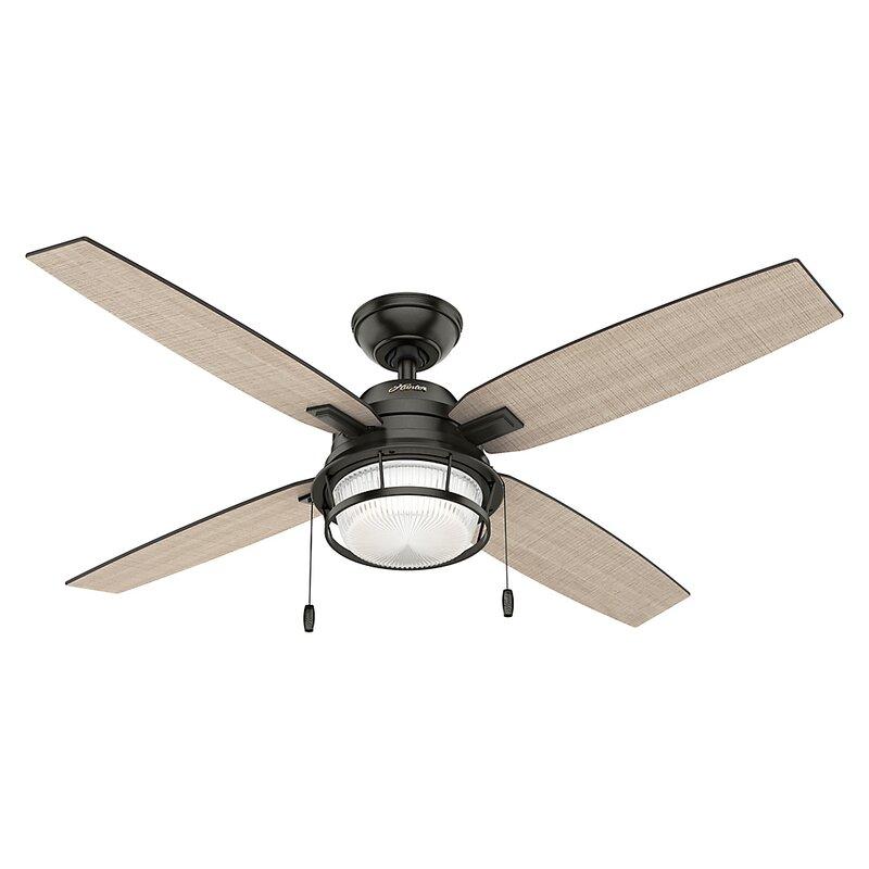 Hunter fan 52 ocala 4 blade ceiling fan reviews wayfair 52 ocala 4 blade ceiling fan mozeypictures Gallery