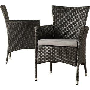 Modern Patio Dining Furniture modern outdoor dining chairs | allmodern