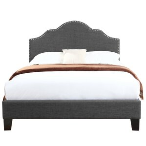 Cherita Upholstered Panel Bed by Bungalow Rose