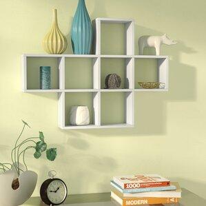 living room wall shelves. Germain Cubby Wall Shelf Decorative Shelving  Birch Lane