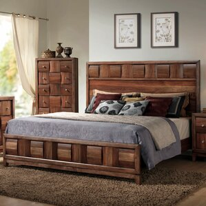 Calais Panel Bed by Roundhill Furniture