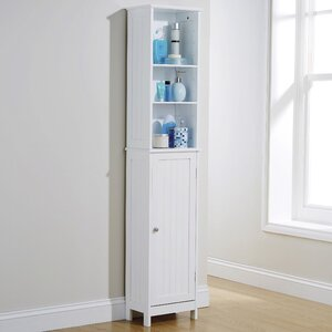 turku 34 x 1655cm free standing tall bathroom cabinet