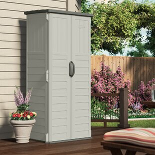d plastic vertical tool shed - Garden Tool Shed