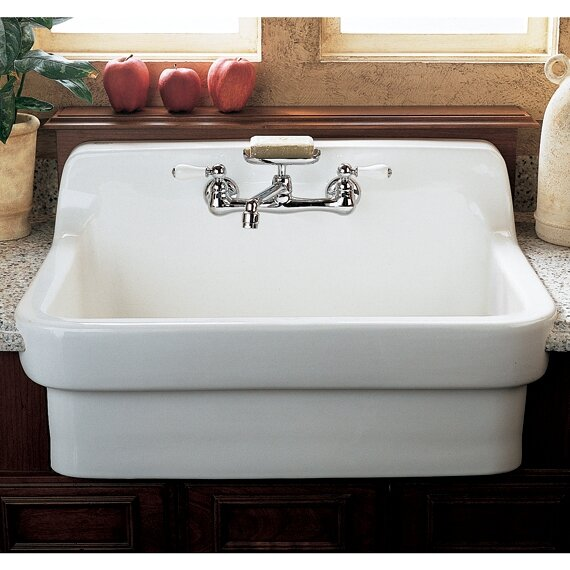 30   x 22   country kitchen sink american standard 30   x 22   country kitchen sink  u0026 reviews   wayfair  rh   wayfair com