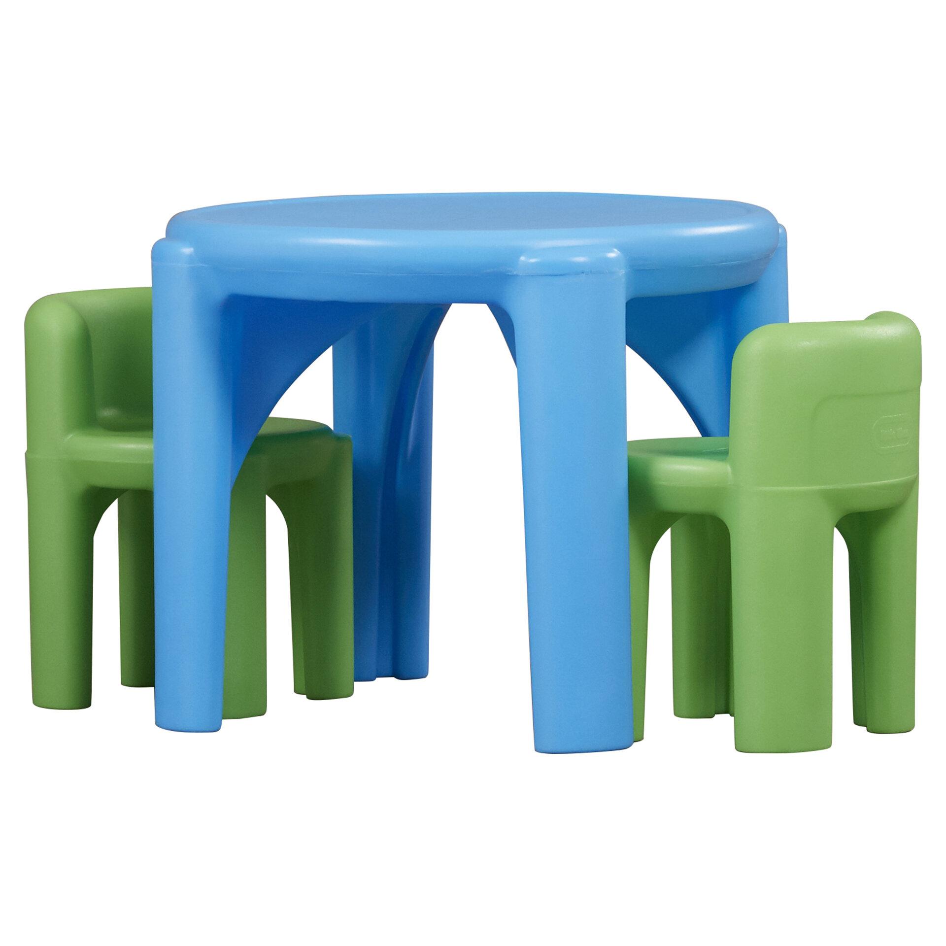Little Tikes Kids 3 Piece Writing Table & Chair Set & Reviews | Wayfair