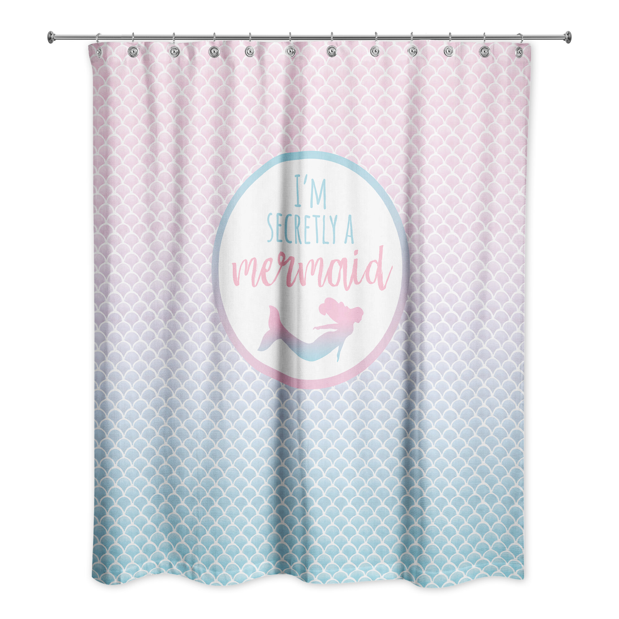 repellent gb polyester curtains white cm densely shower with art ikea textiles coating floral curtain en woven rugs products rosenfibbla pattern fabric water