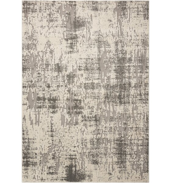 Gleam Ivory Gray Area Rug Allmodern