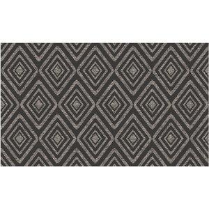 Black Indoor/Outdoor Area Rug