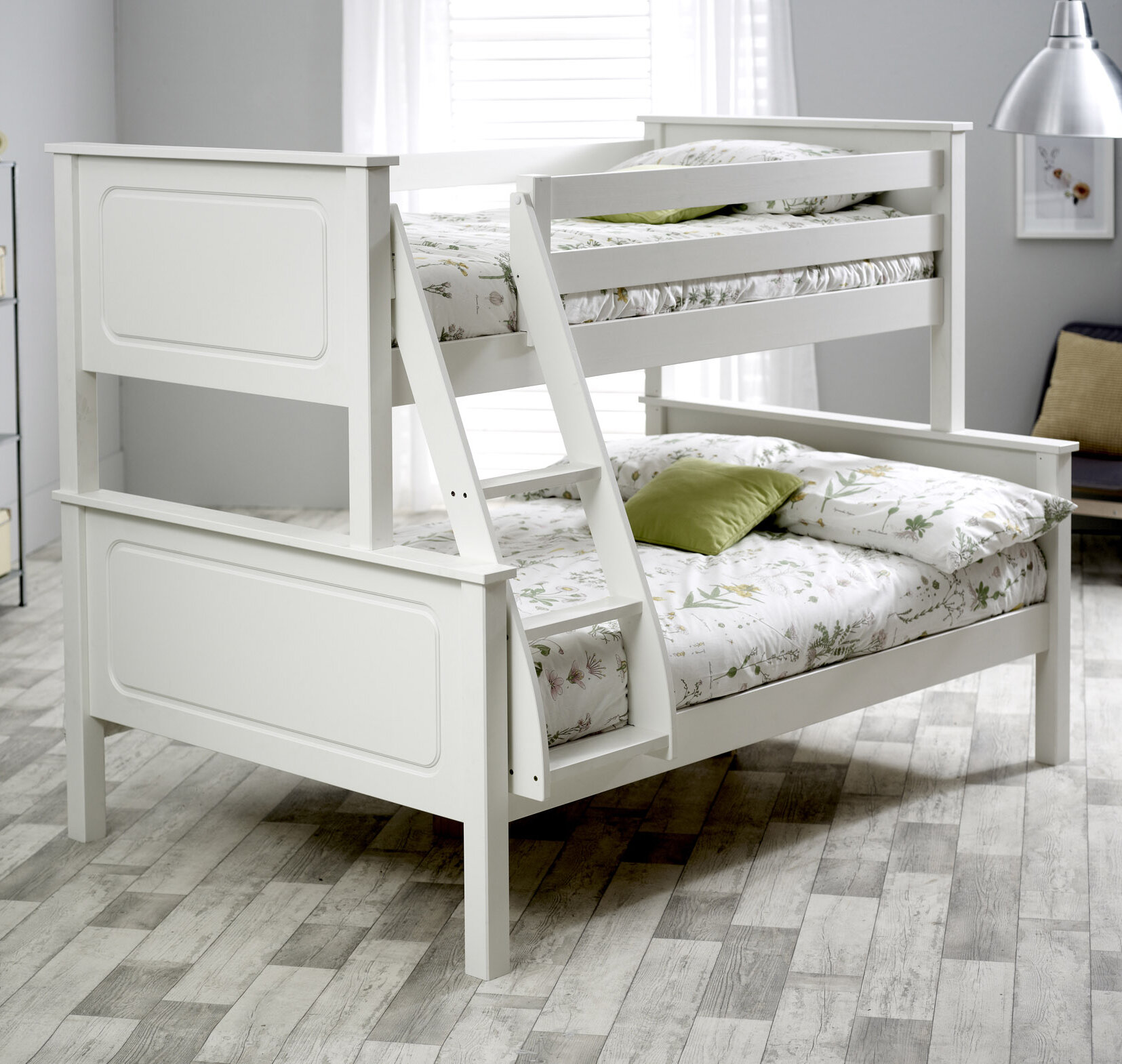 Just Kids Ashley Triple Sleeper Bunk Bed Wayfair Co Uk