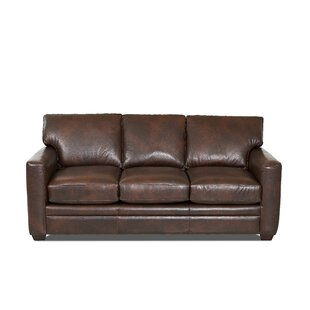 Made In Usa Leather Sofas You Ll Love Wayfair