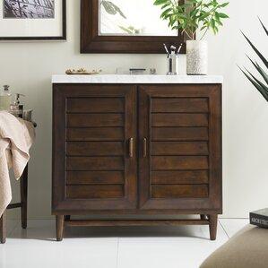 Bathroom Vanities Ventura Ca black 36 inch vanities you'll love | wayfair