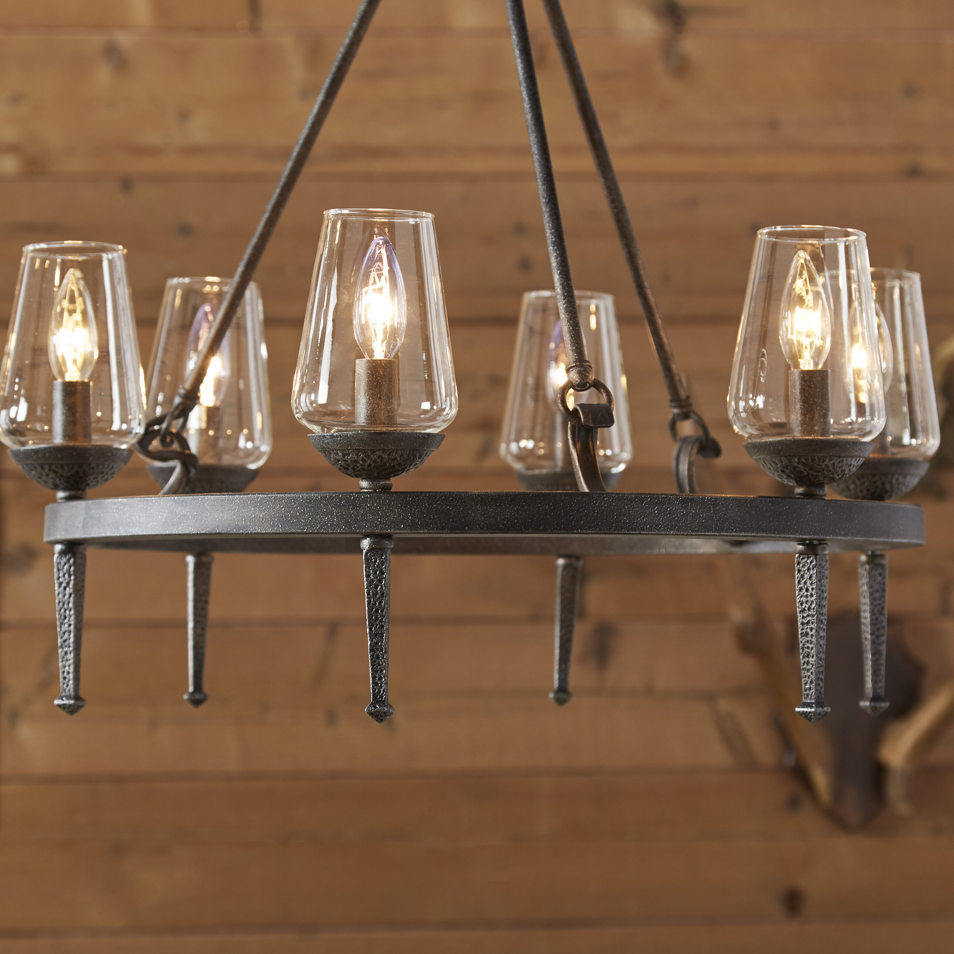 light alsace birch lane style reviews pdp fashioned candle lighting chandelier old