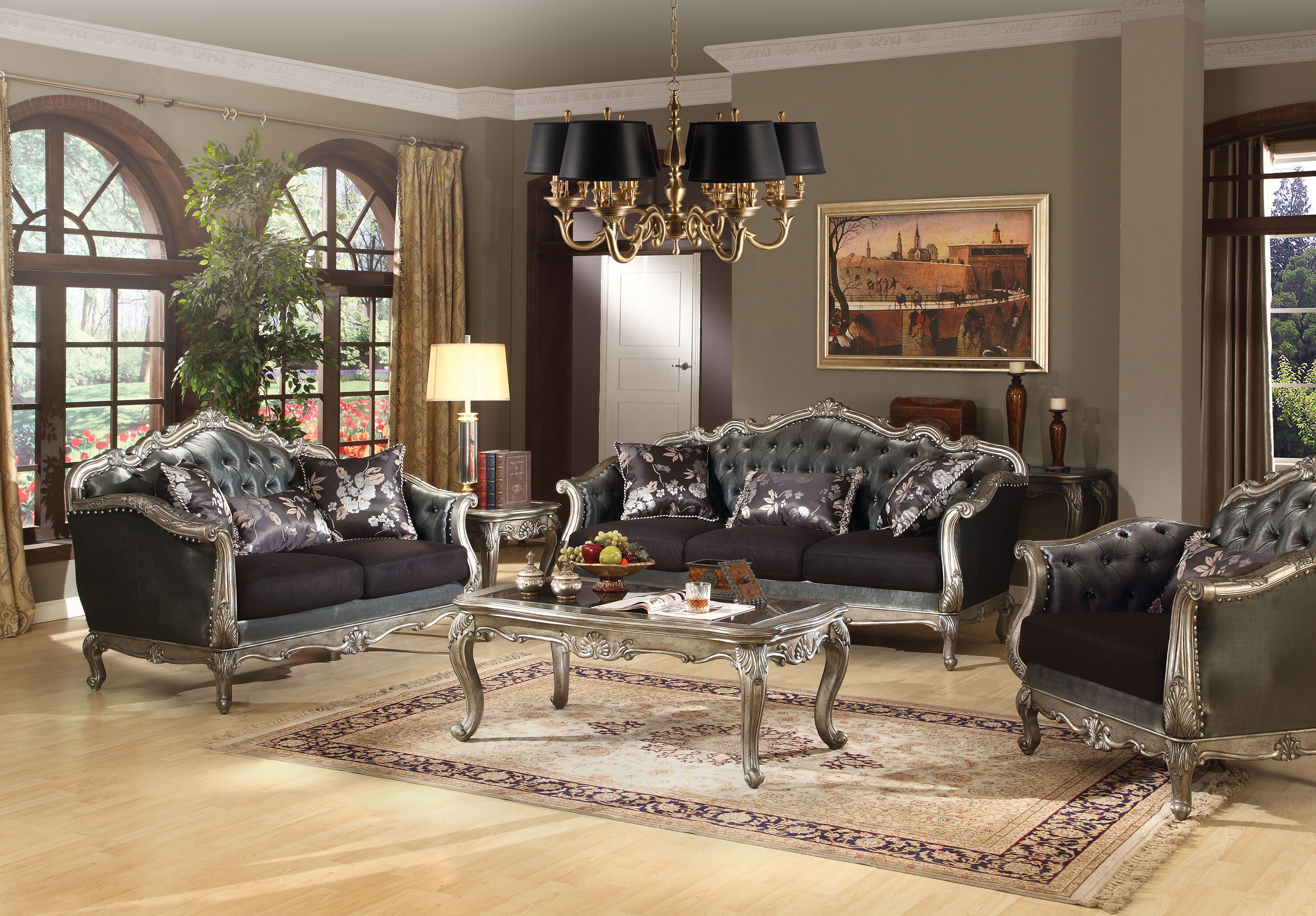 Astoria grand wensley configurable living room set wayfair