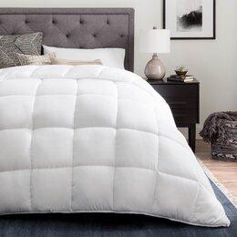 Down Comforters + Duvet Inserts