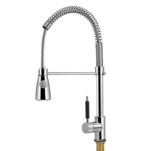 Pro-Style Pull Down Single Handle Kitchen Faucet