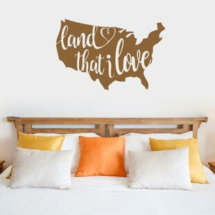 Throncliffe Land That I Love Vinyl Wall Words Decal