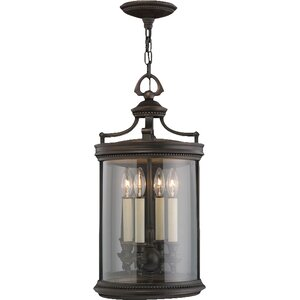 Louvre 4-Light Outdoor Hanging Lantern