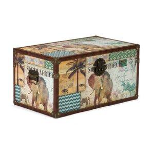 Box Afrika aus Holz von Massivum