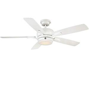 54″ Skyplug Adley 5 Blade LED Ceiling Fan with Remote