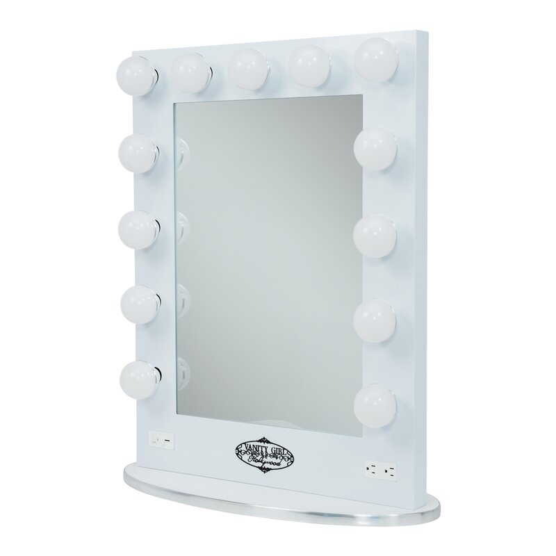 Broadway Lighted Vanity Mirror Girl Hollywood  Reviews