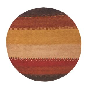 Havsa Desert Gabbeh Hand-Knotted Red/Yellow Area Rug