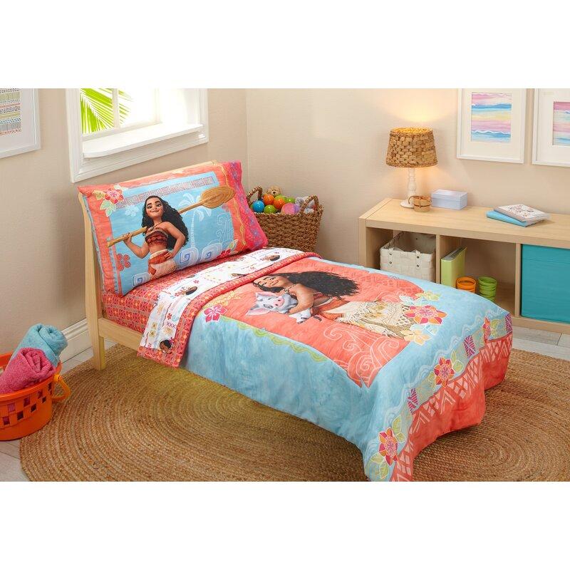973da60746b3 Disney Moana 4 Piece Toddler Bedding Set & Reviews   Wayfair
