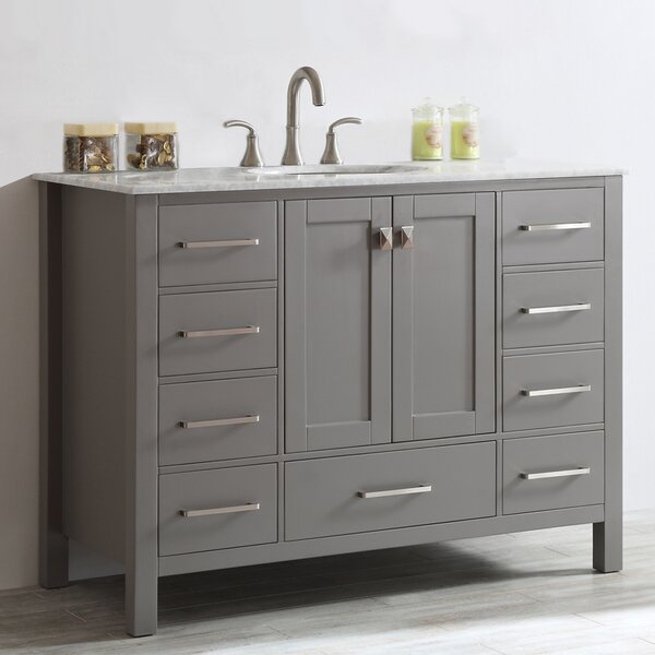 55 Inch Bathroom Vanity Wayfair