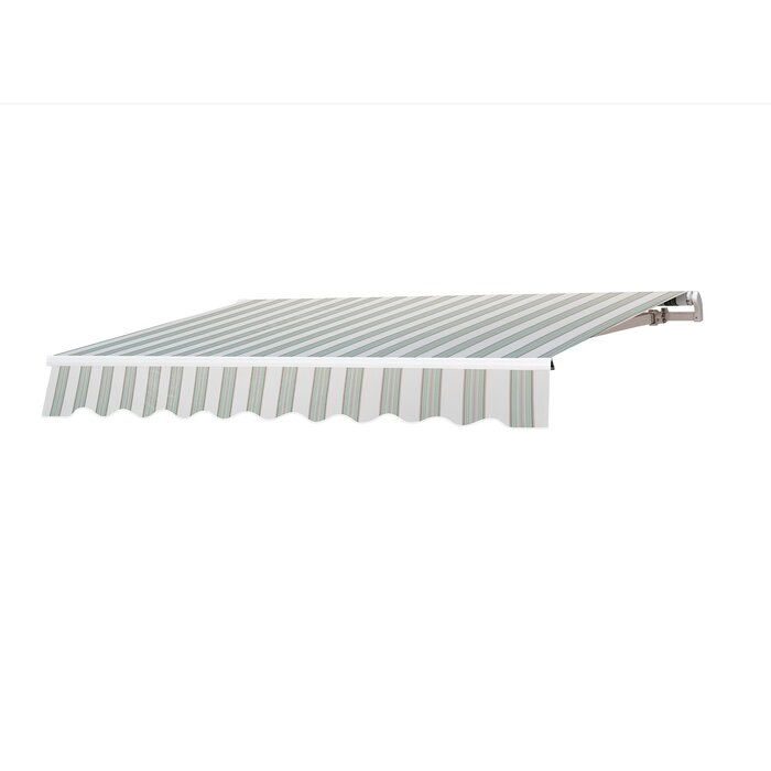 reputable site 21a63 3f4e9 Manual 8ft. W x 7ft. D Retractable Window & Door Awning