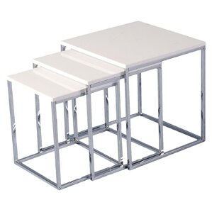 Cherry 3 Piece Nest of Tables