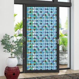 Delia Peacock Door Window Film & Door Window Film | Wayfair