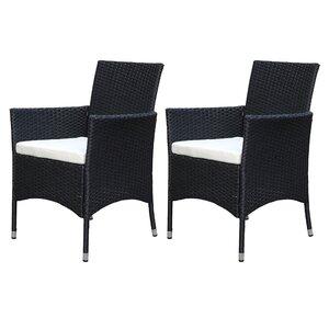 2-tlg. Loungesessel Ariana, mit Sitzkissen von Hazelwood Home