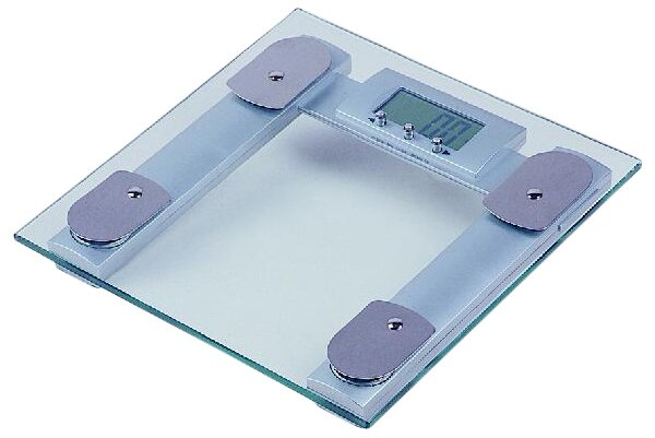 Square Digital Body Fat Analyzer Bathroom Scale
