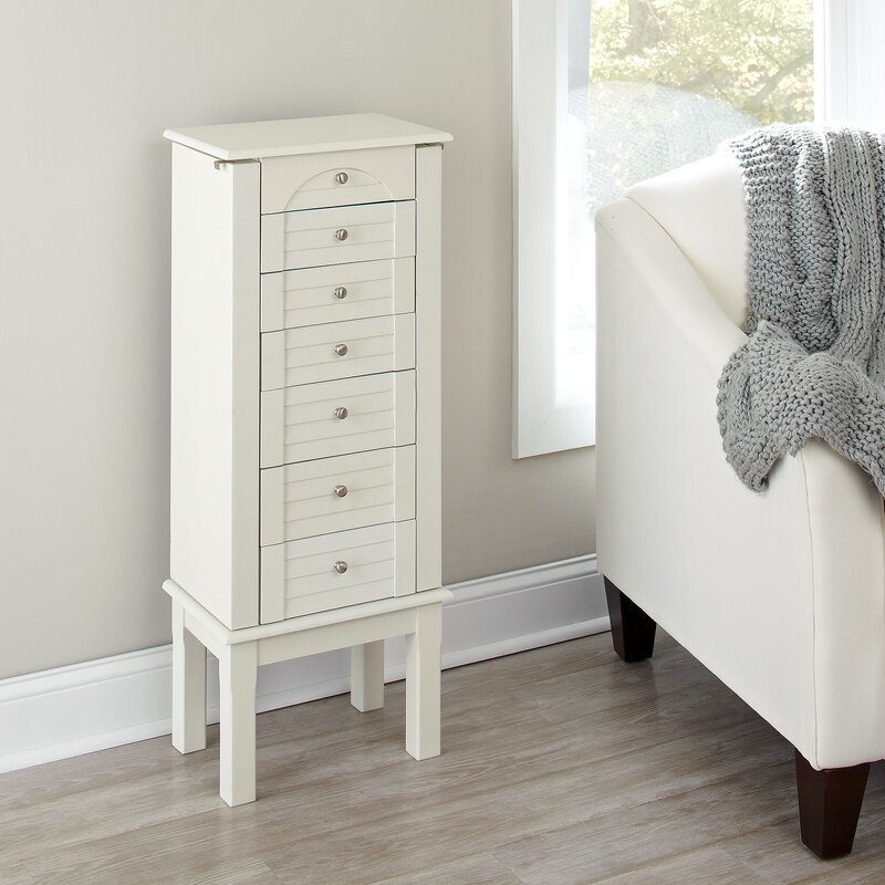 Lovely Caine Jewelry Armoire