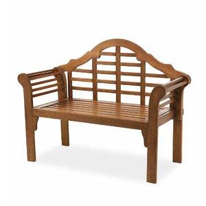 Lutyens Wood Garden Bench