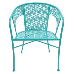Bon Turquoise Metal Chair | Wayfair