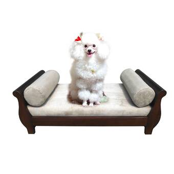 Archie & Oscar Hatley Ultra Plush Dog Sofa & Reviews | Wayfair