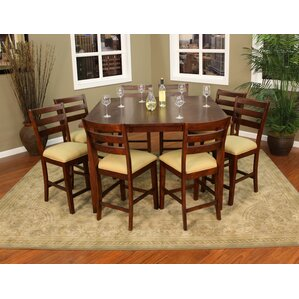 Este 9 Piece Counter Height Pub Set by American Heritage