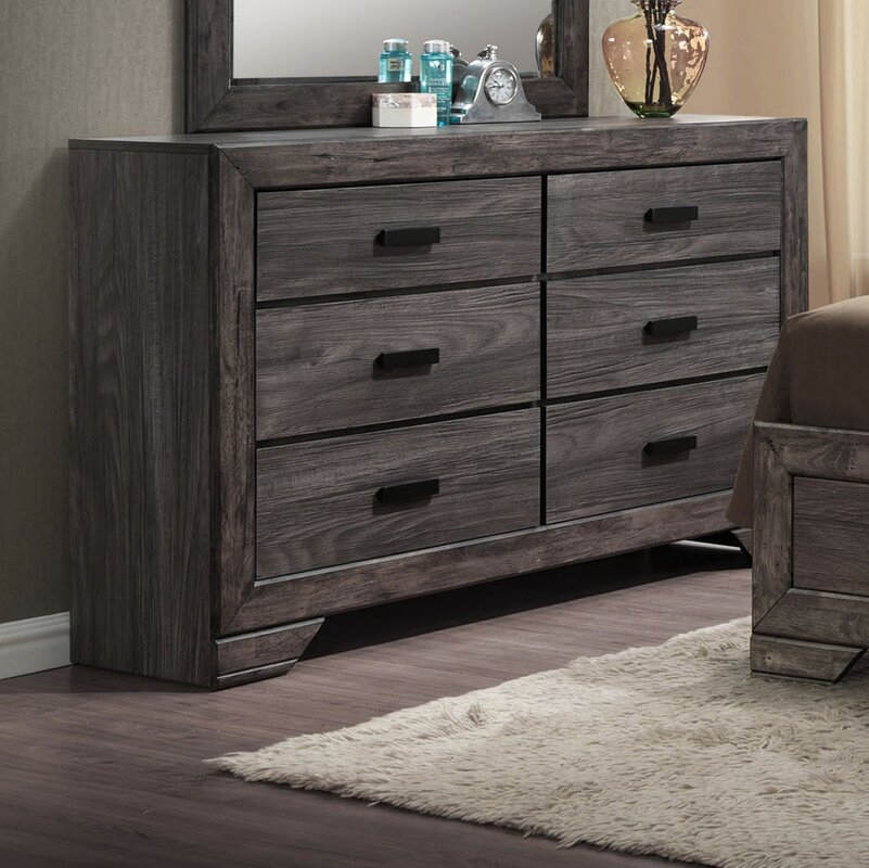 products serta dresser right angle drawer grey view langley drw rustic